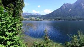 Χωριό του ST Gilgen στο Σάλτζμπουργκ Αυστρία απόθεμα βίντεο