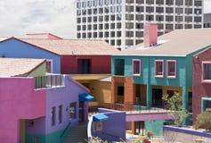 χωριό του Tucson placita αγορών Λα Στοκ Εικόνες