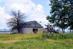 χωριό υπόστεγων στοκ φωτογραφία με δικαίωμα ελεύθερης χρήσης