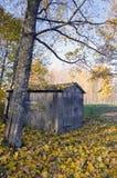 χωριό φθινοπώρου Στοκ φωτογραφία με δικαίωμα ελεύθερης χρήσης