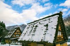 Χωριό χιονιού Στοκ εικόνες με δικαίωμα ελεύθερης χρήσης