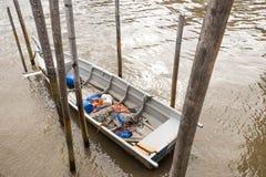 Χωριό ψαράδων Στοκ Εικόνες