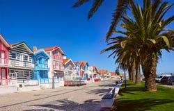 Χωριό ψαράδων ` s Πορτογαλία, Nova πλευρών στοκ φωτογραφίες με δικαίωμα ελεύθερης χρήσης
