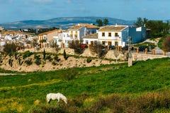 Χωριό Antequera στην Ανδαλουσία, Ισπανία Στοκ Εικόνα