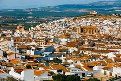 Χωριό Antequera στην Ανδαλουσία, Ισπανία Στοκ εικόνες με δικαίωμα ελεύθερης χρήσης
