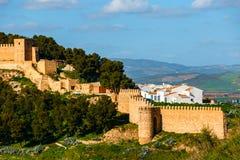 Χωριό Antequera στην Ανδαλουσία, Ισπανία Στοκ φωτογραφία με δικαίωμα ελεύθερης χρήσης