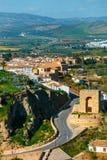 Χωριό Antequera στην Ανδαλουσία, Ισπανία Στοκ Φωτογραφίες