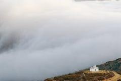 Χωριό Aperi νησιών της Ελλάδας Karapathos Στοκ Εικόνες