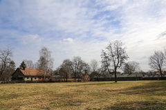 Χωριό Auschwitz στοκ εικόνες με δικαίωμα ελεύθερης χρήσης
