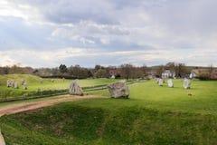 Χωριό Avebury Στοκ Εικόνες