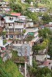 Χωριό Banaue, βόρειο Luzon, επαρχία Φιλιππίνες Ifugao Τα πεζούλια ρυζιού παγκόσμιων κληρονομιών σε Banaue Στοκ φωτογραφία με δικαίωμα ελεύθερης χρήσης