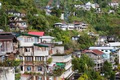 Χωριό Banaue, επαρχία Φιλιππίνες Ifugao Στοκ φωτογραφία με δικαίωμα ελεύθερης χρήσης