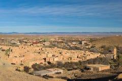 Χωριό Berrem κοντά σε Midelt, Μαρόκο Στοκ φωτογραφία με δικαίωμα ελεύθερης χρήσης