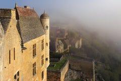 Χωριό beynac-et-Cazenac, Dordogne, Γαλλία στοκ εικόνα