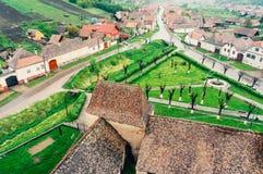 Χωριό Biertan, Ρουμανία Στοκ Εικόνες