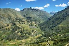 Χωριό Carania και των περιχώρων, Περού Στοκ φωτογραφίες με δικαίωμα ελεύθερης χρήσης
