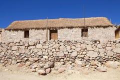 Χωριό Caspana, Χιλή στοκ φωτογραφίες με δικαίωμα ελεύθερης χρήσης
