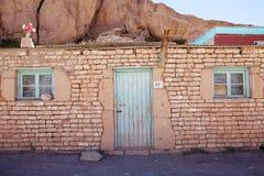 Χωριό Caspana, Χιλή στοκ εικόνα με δικαίωμα ελεύθερης χρήσης