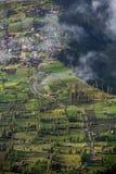 Χωριό Cemoro Lawang ορεινών περιοχών Στοκ Εικόνες
