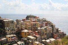 Χωριό Coisy από τη Λιγουρία | Cinque Terre Itally Στοκ φωτογραφία με δικαίωμα ελεύθερης χρήσης