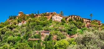 Χωριό Deia της Ισπανίας Majorca Στοκ φωτογραφία με δικαίωμα ελεύθερης χρήσης