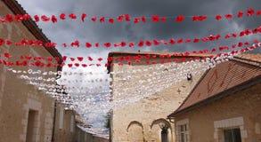 Χωριό Fete σε Duchamps, νότια Γαλλία Στοκ εικόνα με δικαίωμα ελεύθερης χρήσης
