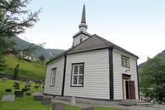 Χωριό Geiranger, φιορδ Geiranger, Νορβηγία Στοκ Φωτογραφίες