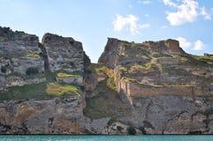 Χωριό Halfeti σε Sanliurfa, Τουρκία Ιστορικός, πολιτισμός Εξωτικός, Ανατολία στοκ φωτογραφία με δικαίωμα ελεύθερης χρήσης