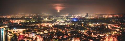 Χωριό HDR της Γερμανίας Andernach Κάμερα Nikon D610 Στοκ εικόνα με δικαίωμα ελεύθερης χρήσης