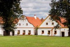 Χωριό Holasovice της ΟΥΝΕΣΚΟ στοκ εικόνες