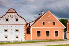 Χωριό Holasovice της ΟΥΝΕΣΚΟ στοκ εικόνες με δικαίωμα ελεύθερης χρήσης