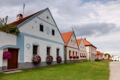 Χωριό Holasovice της ΟΥΝΕΣΚΟ στοκ εικόνα με δικαίωμα ελεύθερης χρήσης