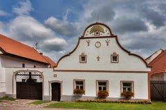 Χωριό Holasovice της ΟΥΝΕΣΚΟ στοκ φωτογραφίες με δικαίωμα ελεύθερης χρήσης