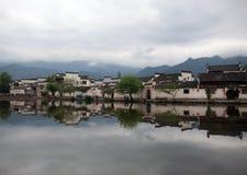Χωριό Hongcun, Κίνα Στοκ εικόνα με δικαίωμα ελεύθερης χρήσης