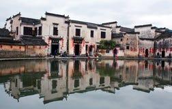 Χωριό Hongcun, Κίνα Στοκ Φωτογραφίες