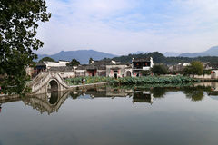 Χωριό Hongcun, Κίνα Στοκ φωτογραφίες με δικαίωμα ελεύθερης χρήσης