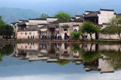 Χωριό Hongcun σε Anhui Provunce, Κίνα Στοκ Φωτογραφίες
