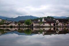 Χωριό Hongcun σε Anhui Provunce, Κίνα Στοκ εικόνες με δικαίωμα ελεύθερης χρήσης