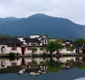 Χωριό Hongcun στην επαρχία Anhui, Κίνα Στοκ εικόνα με δικαίωμα ελεύθερης χρήσης