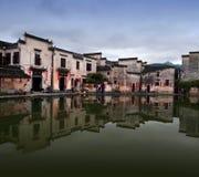 Χωριό Hongcun στην επαρχία Anhui, Κίνα Στοκ Φωτογραφία