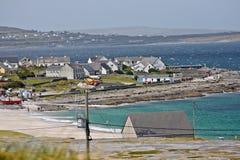 Χωριό Inisheer, νησί Inis Oirr, νομός Galway, Ιρλανδία Στοκ εικόνα με δικαίωμα ελεύθερης χρήσης