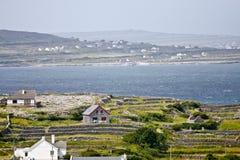 Χωριό Inisheer, νησί Inis Oirr, νομός Galway, Ιρλανδία Στοκ Εικόνες