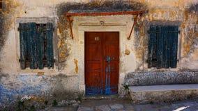 Χωριό Lakones σπιτιών στοκ φωτογραφίες