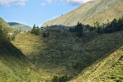 Χωριό LAraos μέσα ούτε Yauyos Cochas, Περού Στοκ φωτογραφίες με δικαίωμα ελεύθερης χρήσης