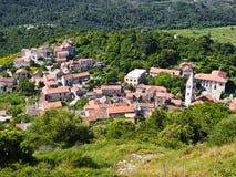 χωριό lastovo Στοκ Εικόνα
