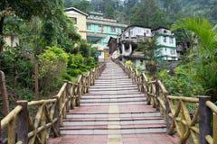 Χωριό Legship, δυτικό Sikkim, Ινδία Στοκ εικόνες με δικαίωμα ελεύθερης χρήσης