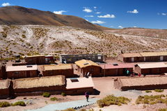 Χωριό Machuca SAN Pedro de Atacama Περιοχή Antofagasta Χιλή Στοκ φωτογραφίες με δικαίωμα ελεύθερης χρήσης