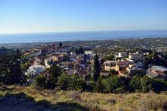 Χωριό Maroulas Rethymno Στοκ εικόνες με δικαίωμα ελεύθερης χρήσης