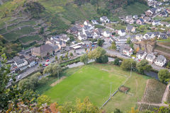 Χωριό Mayschoss στην κοιλάδα Ahr, Γερμανία Στοκ Εικόνες