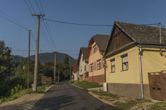 Χωριό Medzev ανατολικά στη Σλοβακία στοκ φωτογραφία με δικαίωμα ελεύθερης χρήσης
